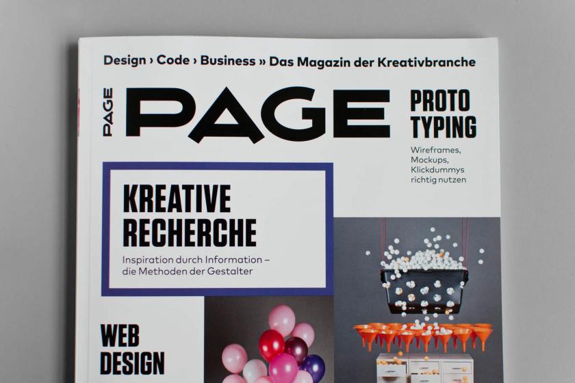 »Kreative Recherchestrategien« – Expertentipp in der aktuellen PAGE