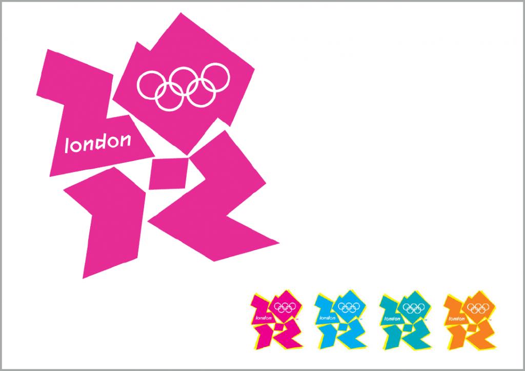 Bewusste Differenzierung (typisch englisch): London 2012 erfindet das Olympia-Logo neu