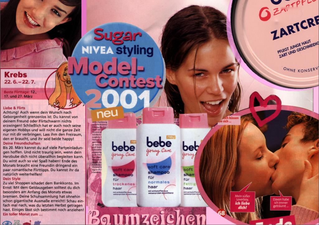 """Der Visuelle Code """"Mädchen-Design""""..."""