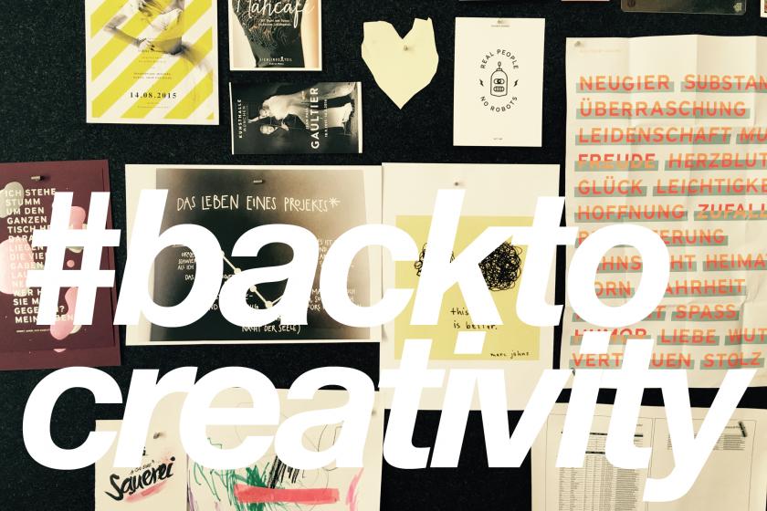 »Back to creativity«: 6 Tipps für sinnvolles Arbeiten in einer Designagentur – Gastbeitrag in HORIZONT online