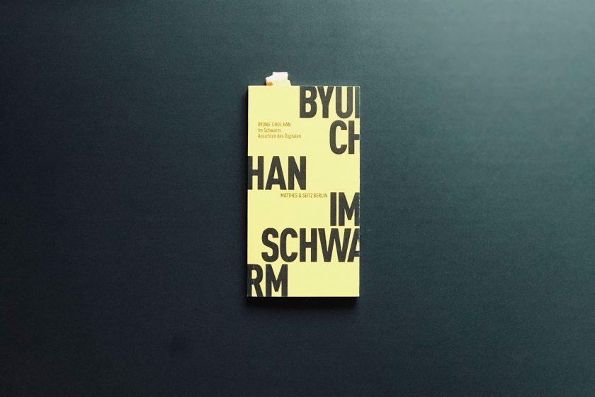 """Buchcover Byung-Chul Han """"Im Schwarm"""""""