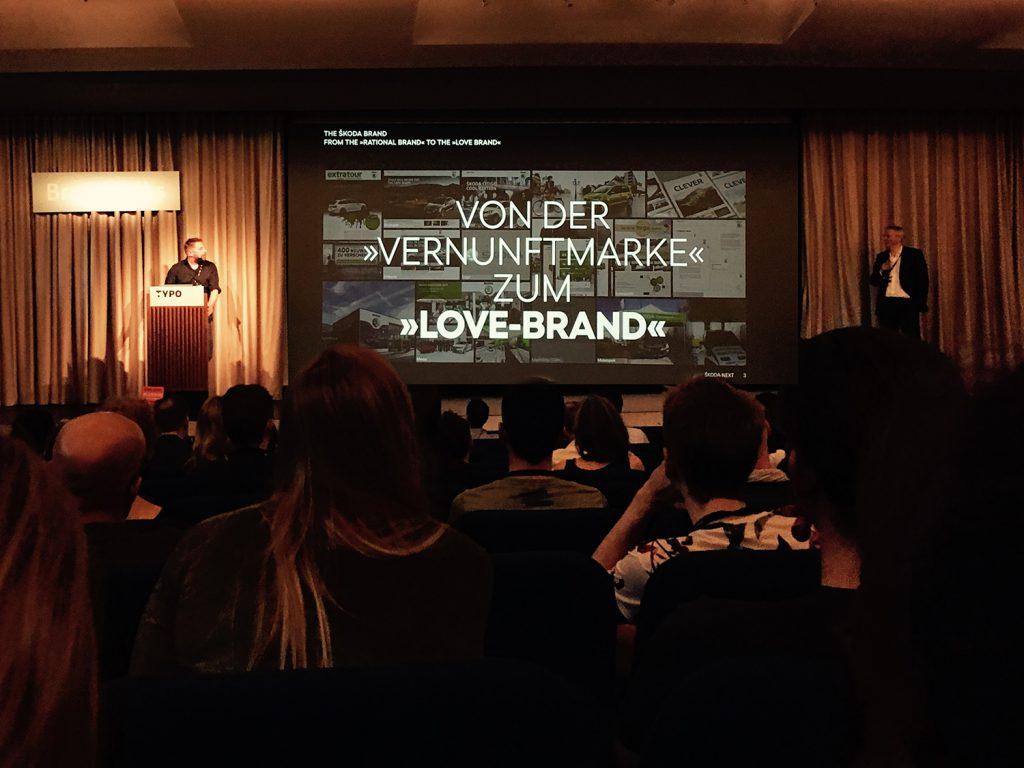 Vortrag über Branding
