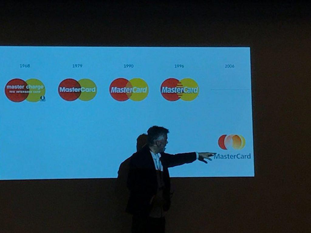 Vortrag über das Branding von MasterCard