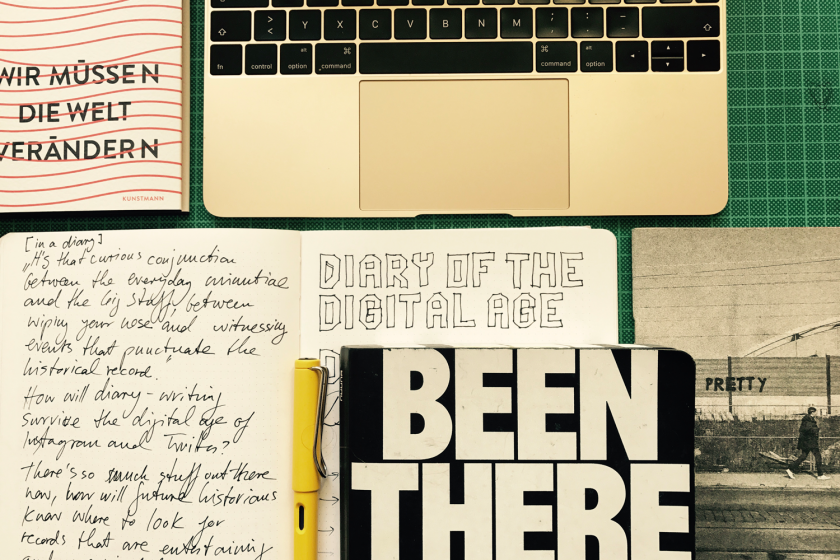 Mein neuer Blog: Diary of the digital age.