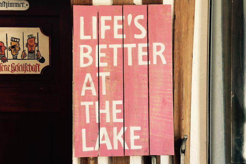 Als das Leben ganz einfach war: Der Seehof am Goldegg-See