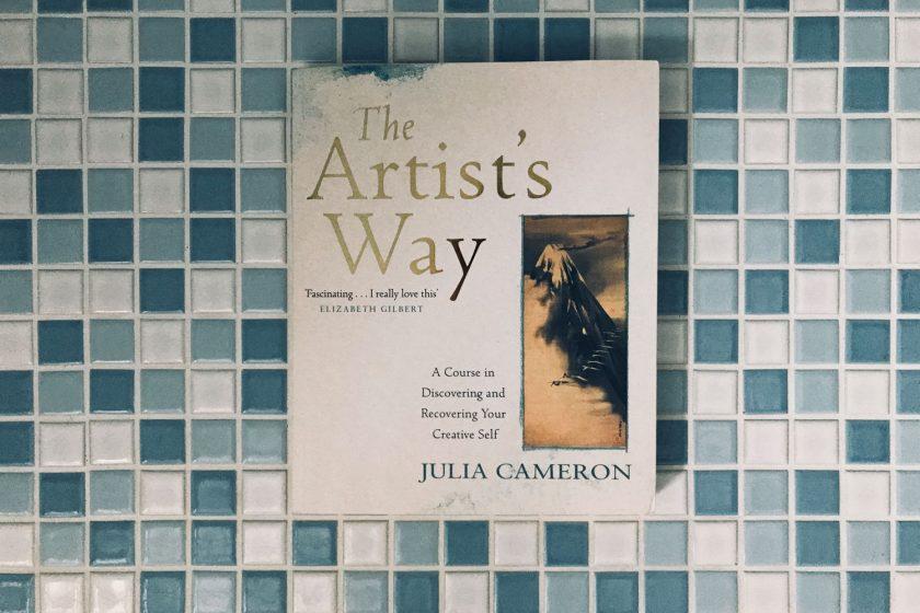 Buchcover the artists way von Julia cameron