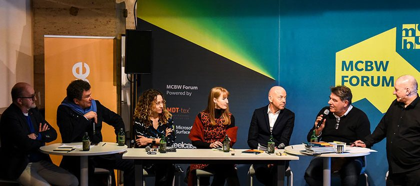 "Teilnehmer des Panels ""Kreapolis – Stadt 4.0"""