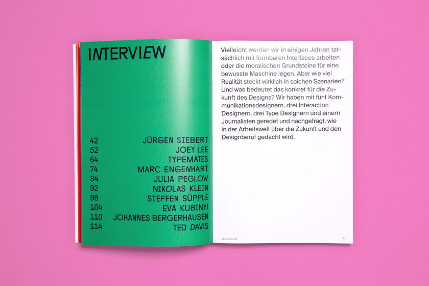 HELLO FUTURE – Where Will Communication Design Go? Interview