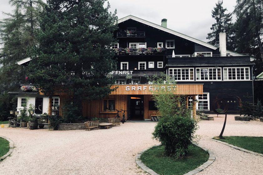 Haus der begehbaren Erinnerung: Bio-Hotel Grafenast