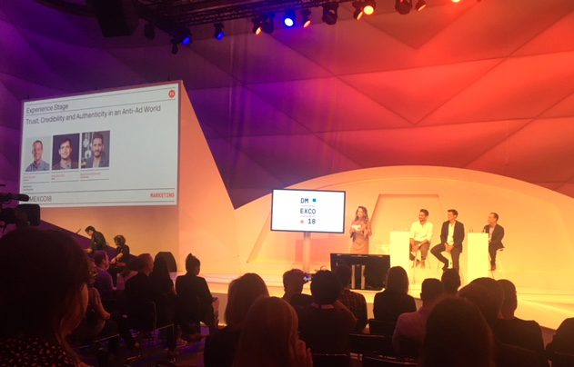 the dmexco experience stage