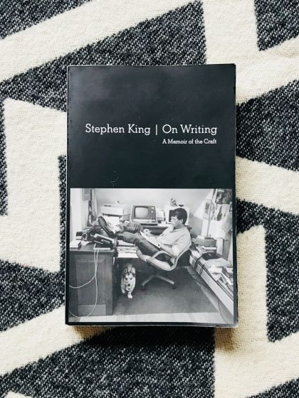 Cover of Stephen Kings Autobiography »On writing«