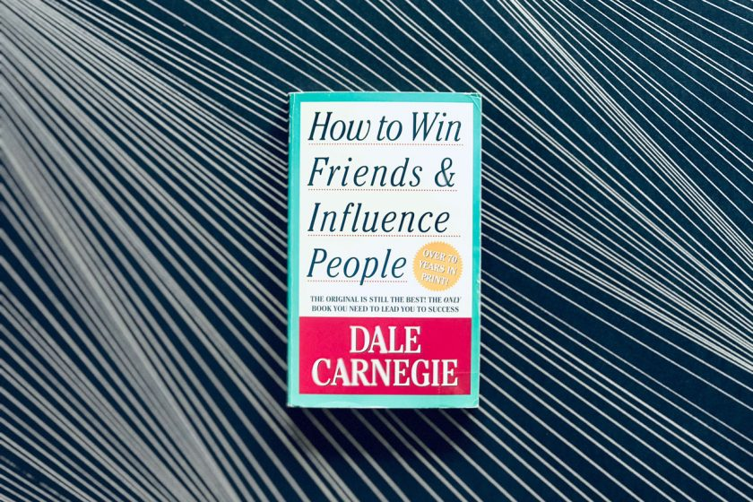 "Dale Carnegie's business classic ""How to Win Friends & Influence People"""