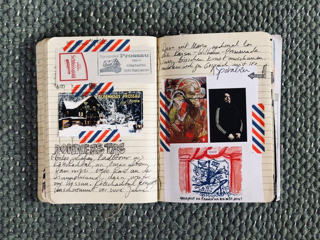 Travel Diary Haus Hirt Jonathan Meese