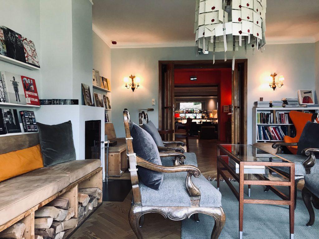 Mein Lieblingsraum: die Bibliothek im Haus Hirt