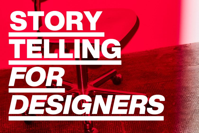 Workshop »Storytelling for Designers«