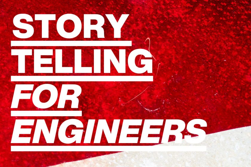 Workshop »Storytelling for Engineers«